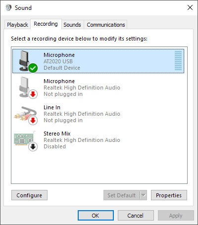 How to Select or Change Microphone Output in Windows 10